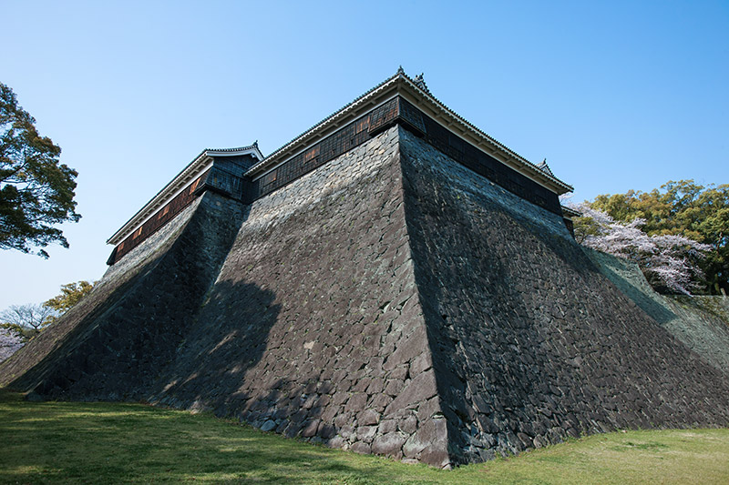 熊本城の城門・櫓・石垣