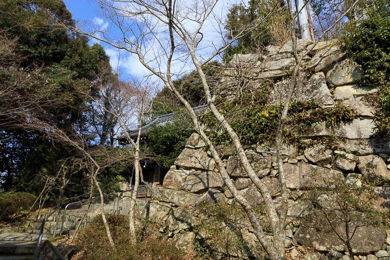 八幡山城(近江八幡城)