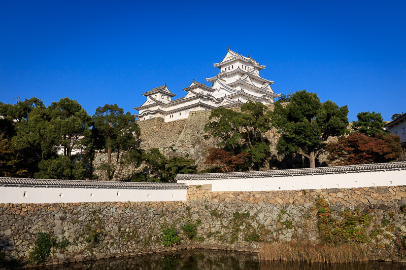 姫路城の天守群風景