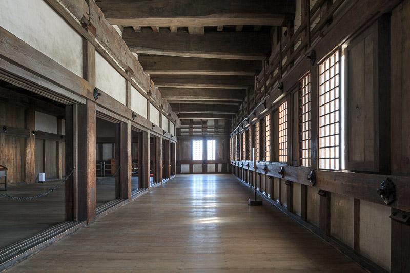 姫路城大天守の内部