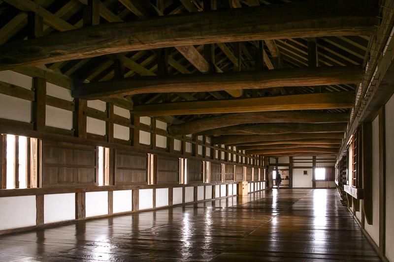 姫路城小天守と渡櫓