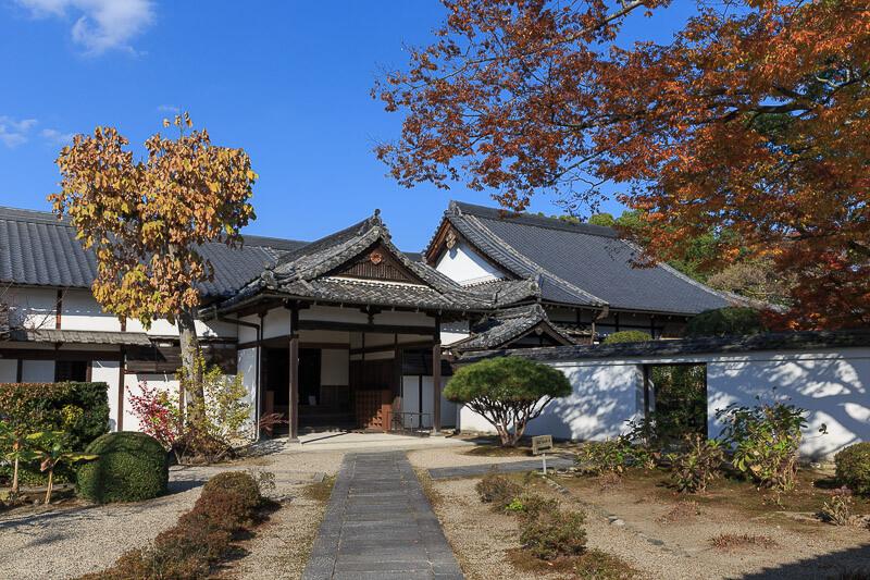 伊賀上野城の城下町
