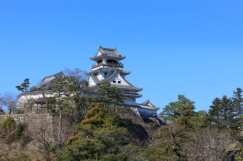 高知城の天守