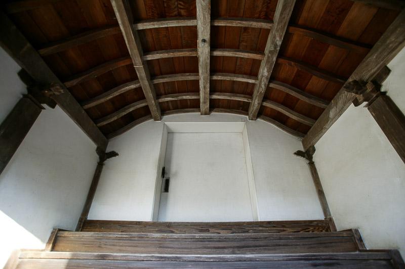 宇和島城の天守内部