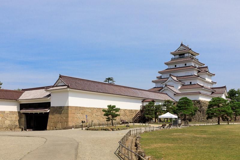 会津若松城の天守