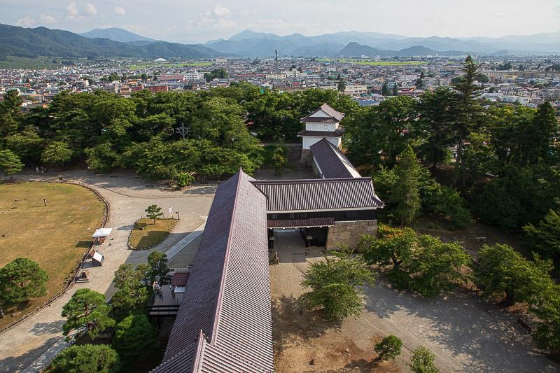 会津若松城の城郭見どころ