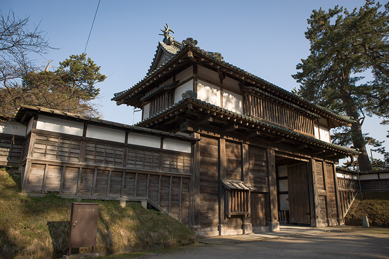 弘前城の城郭見どころ