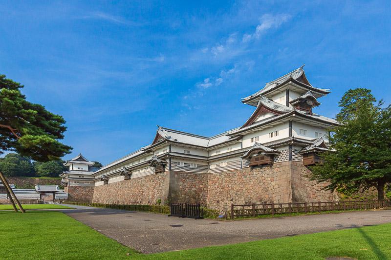 金沢城の城郭