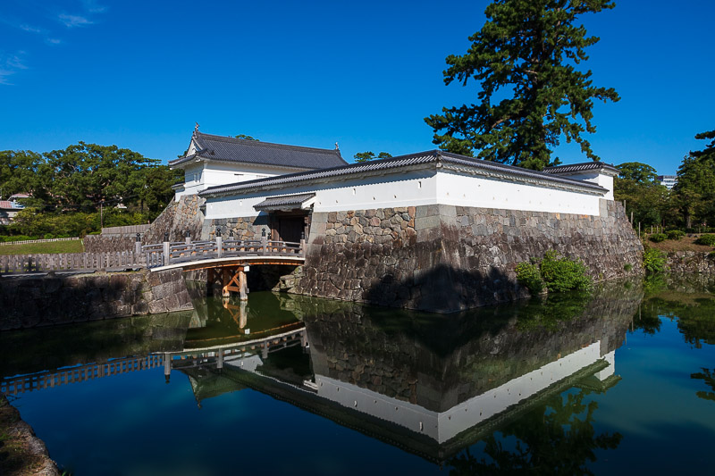 小田原城の城郭